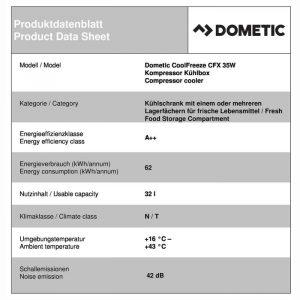 DOMETIC COOLFREEZE CFX 7