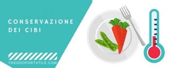 I tempi di conservazione degli alimenti refrigerati o congelati
